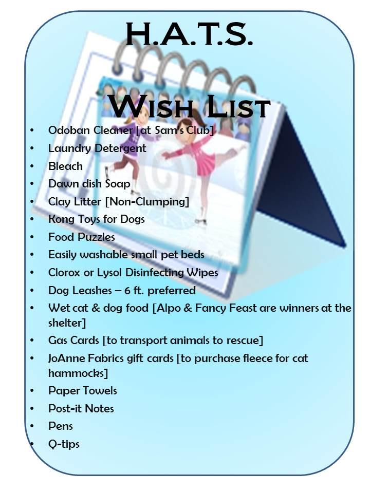 HATS Wish List